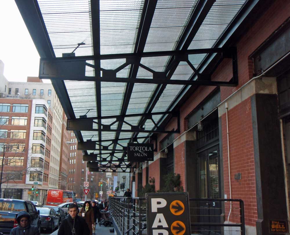 Creative Corrugated Canopies Enliven Environs | Olde Good ...