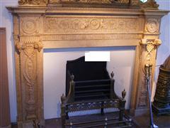 Highly ornate mantel