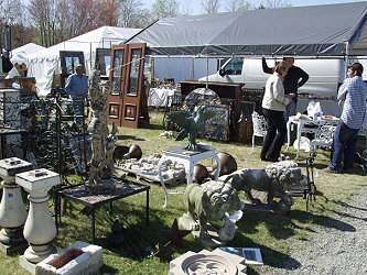 A variety of our products at Brimfield