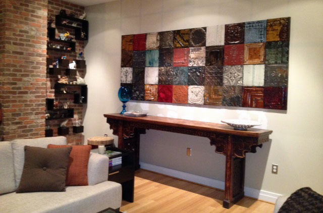 Repurposed Tin Panels Turn Any Wall Into A Work Of Art