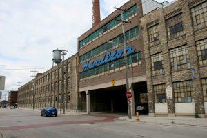 Hamilton Factory, Twin Rivers, Wisconsin prior to demolition