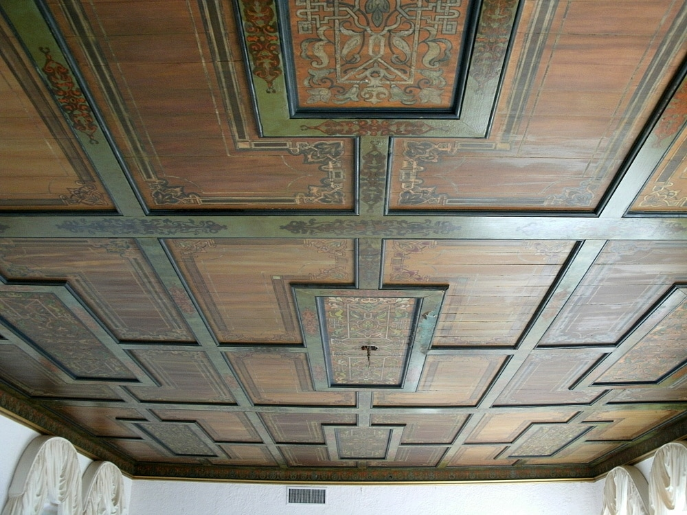 Customer Showcase Hand Stenciled Wooden Ceiling Olde