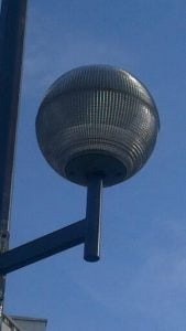 Paris Holophane Globe Streetlight