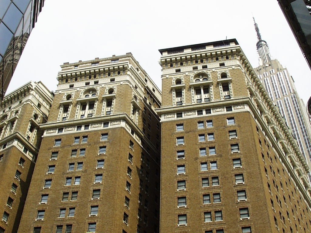 The Hotel McAlpin or McAlpin House at 34th Street Herald Square