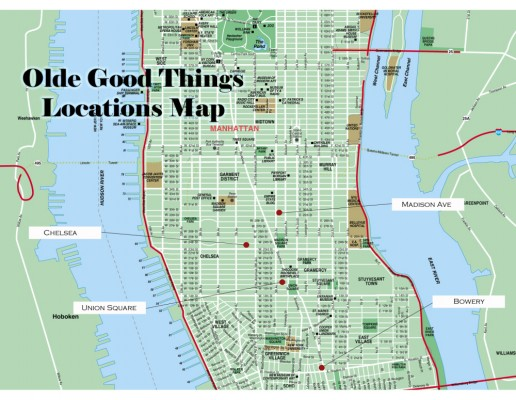 "Do the ""Olde Good Things Walk"" in NYC"
