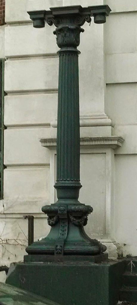 15 Ft tall cast iron light post