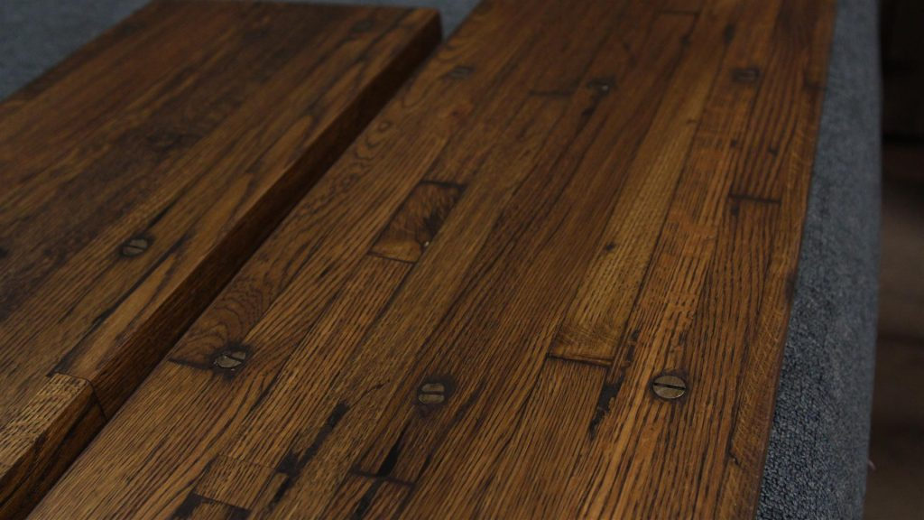Up close and personal with the industrial flooring patina