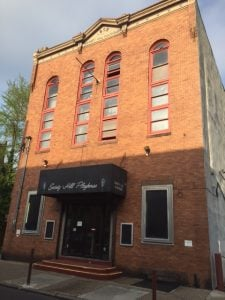 Society Hill Playhouse prior to demolition