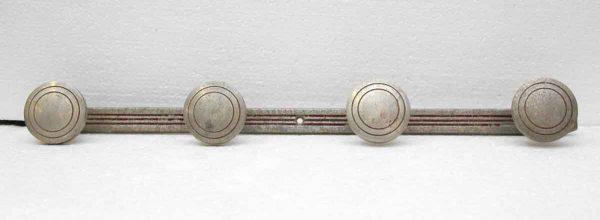 Four Concentric Circle Hook Aluminum Rack.