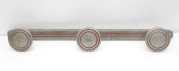 Three Hook Aluminum Rack