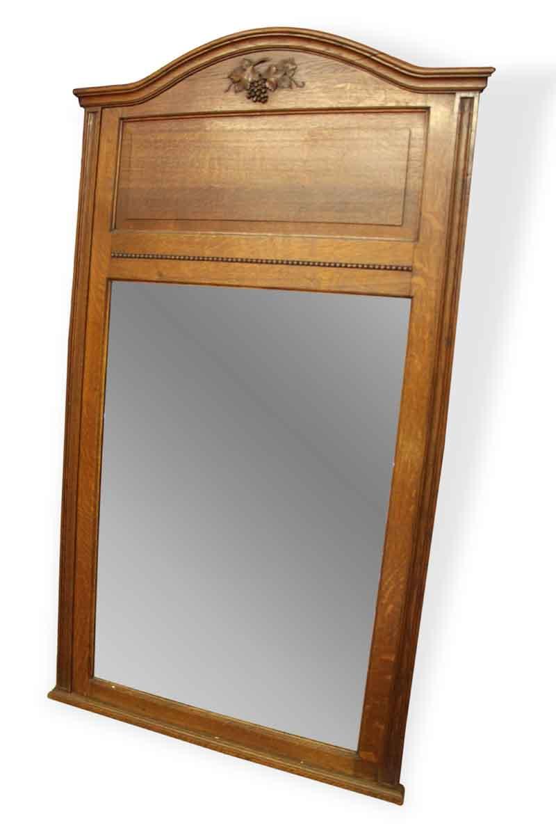 Antique Large Overmantel Mirror