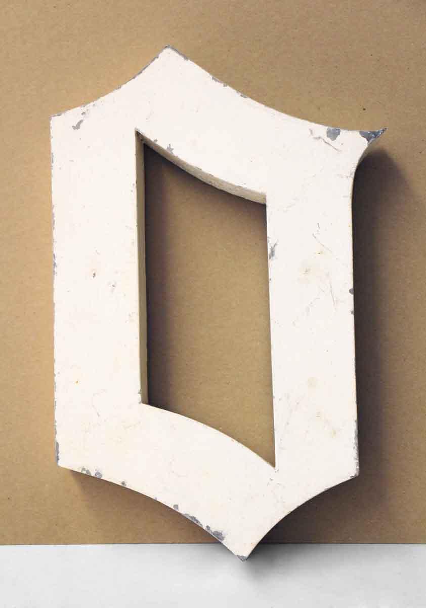 Aluminum Letter O