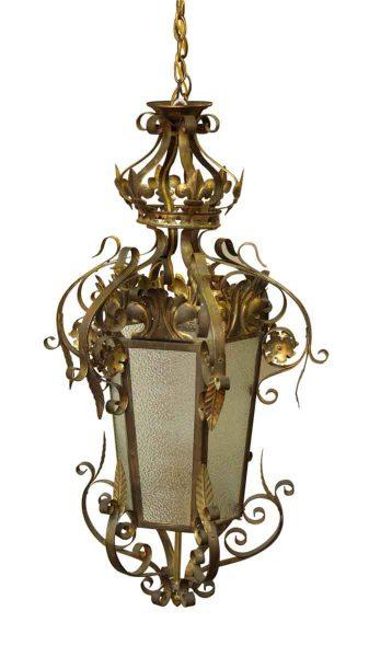 Wrought Iron Vestibule Lantern