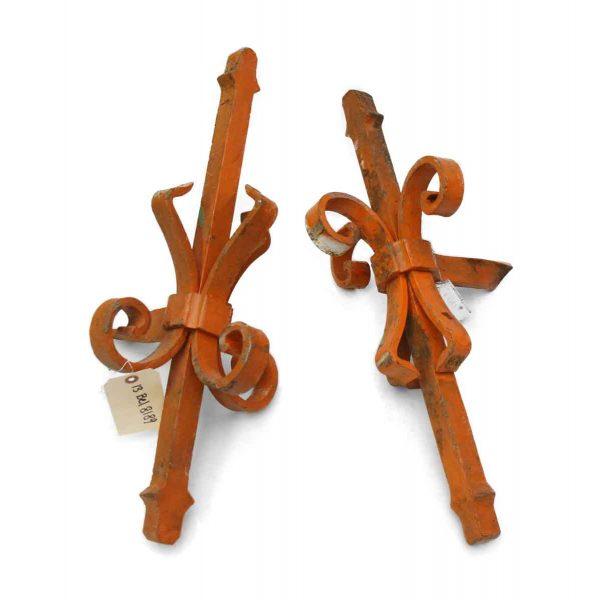 Vintage Wrought Iron Finials