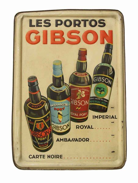 Vintage Liquore Sign from Gibson
