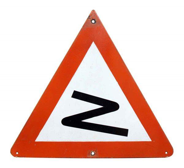 European Road Sign