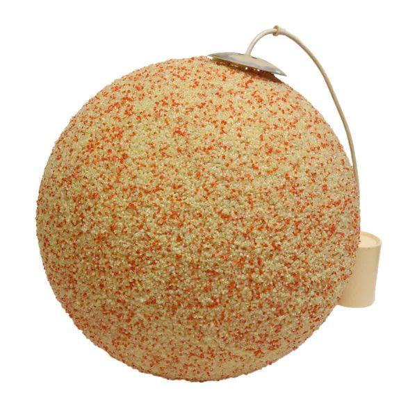 Orange Speckled Arctic Ball