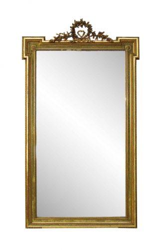 77da939e626d French Victorian Carved Gilt Wood Mirror