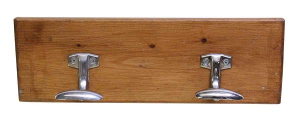 Wooden Plank with Two Hooks