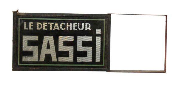 French Le Detacheur Sassi Sign