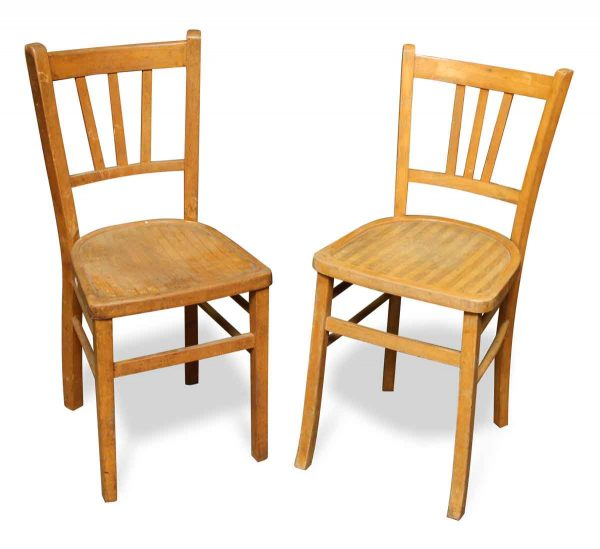 Pair Bistro Chairs