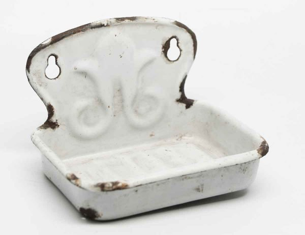 Enamel Coated Soap Dish