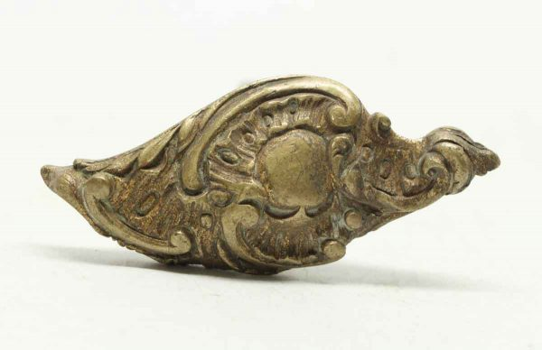 Ornate Single Bronze Lever Doorknob