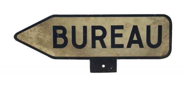 Bureau French Sign
