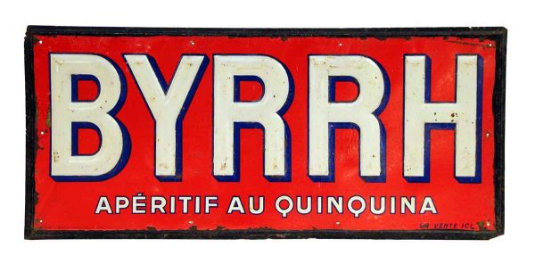 Pair of Byrhh Liquor Signs
