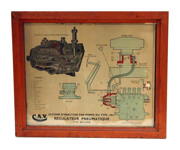 Cav Wood Framed Print