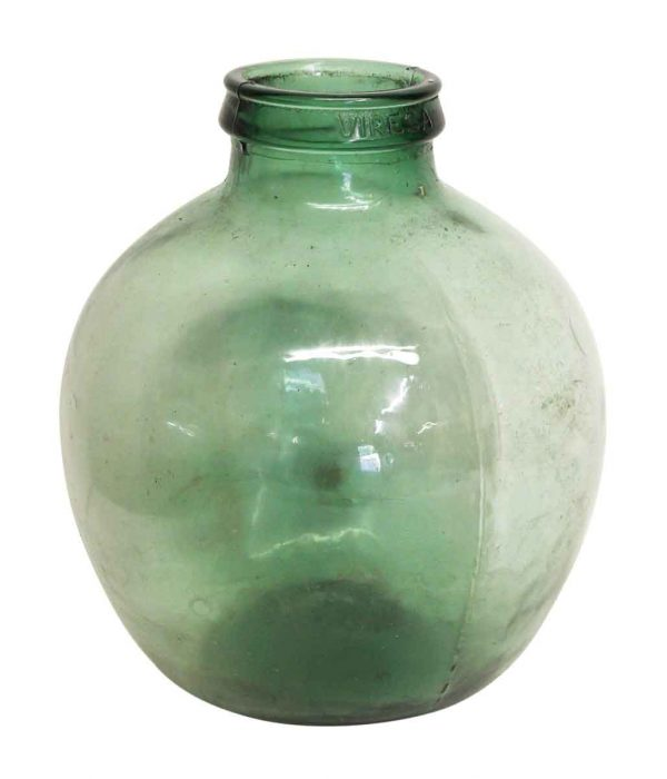 Green Glass Viresa Jug