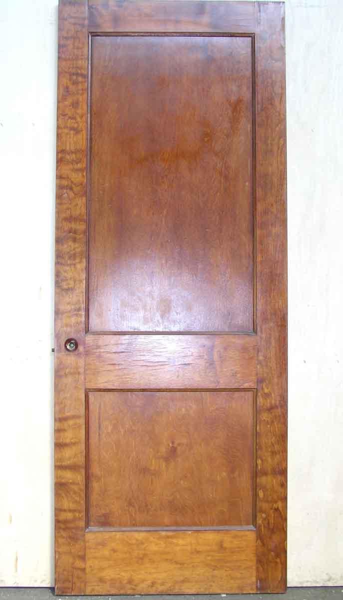Single Recessed Panel Birch Veneer Interior Door Olde