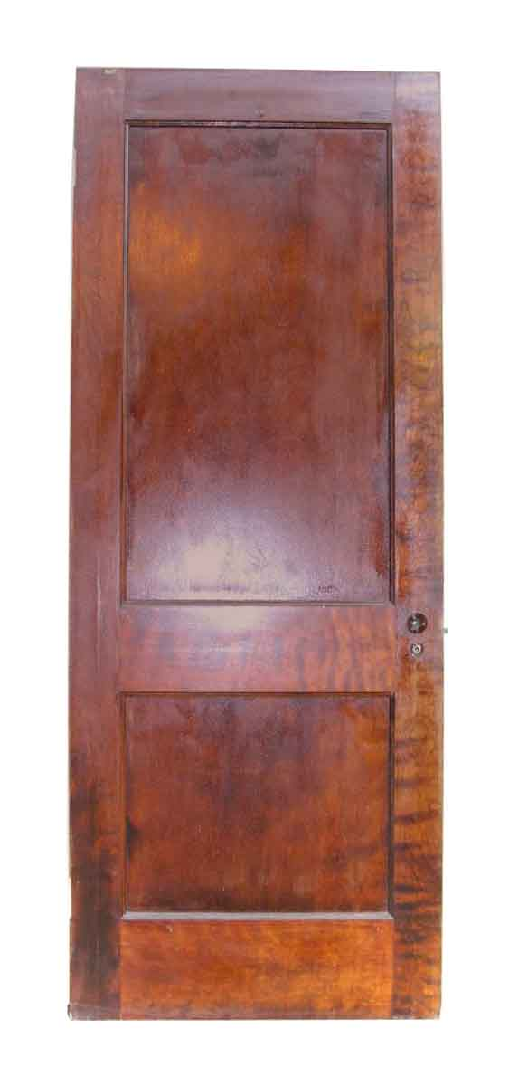 Single Recessed Panel Birch Veneer Interior Door