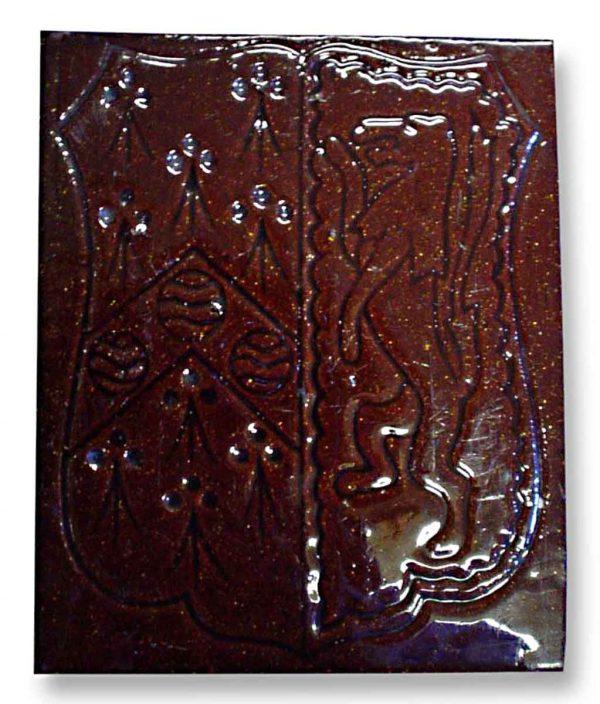 Maw & Co. Brown Glazed Tile