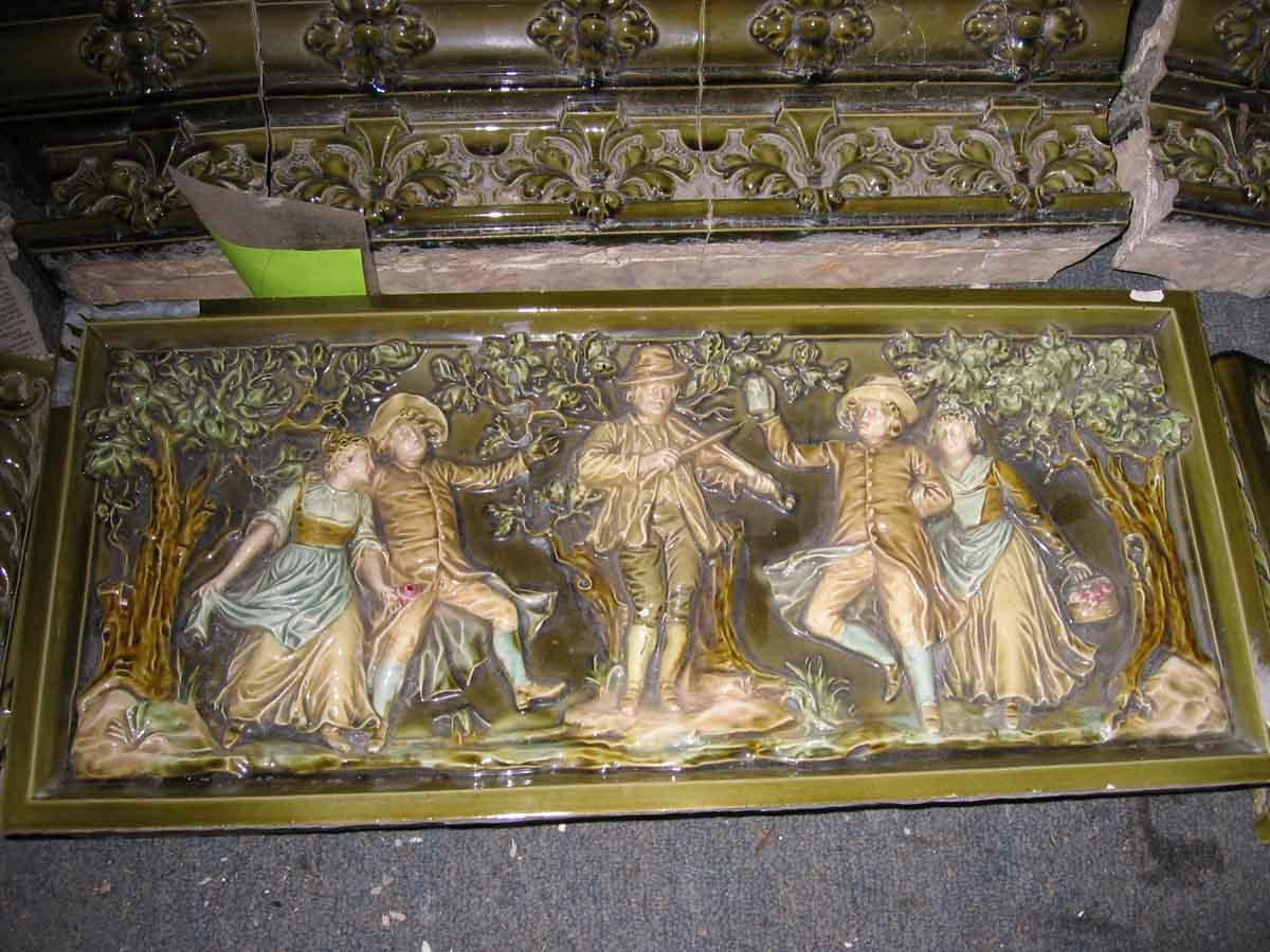 Rare Meissen Green Tile Stove Olde Good Things