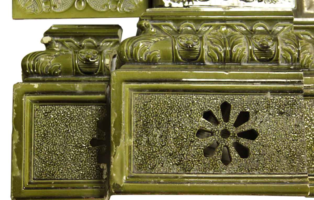 Rare Meissen Green Tile Stove Olde Good Things