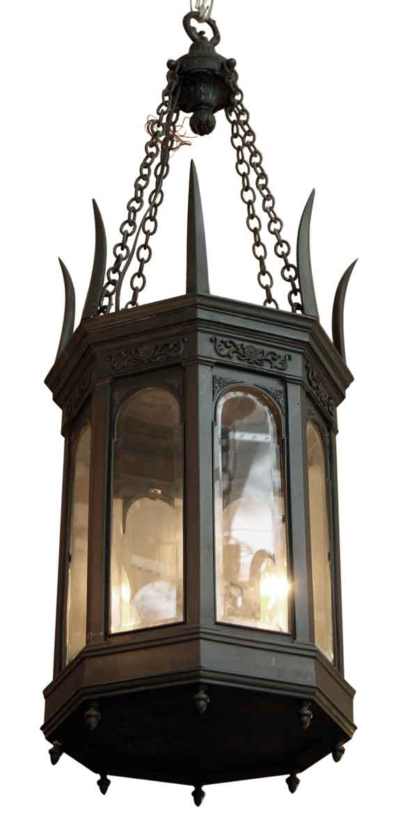 1900s American Made Gothic Style Lantern