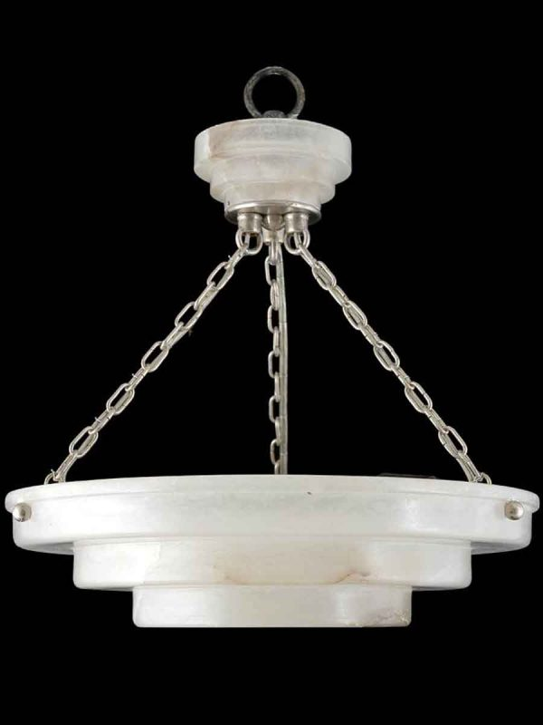 Alabaster Small Step Deco Pendant Light