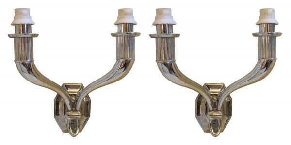 1960s French Deco Sconces