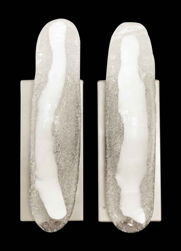 Pair of Murano Glass Modern Sconces