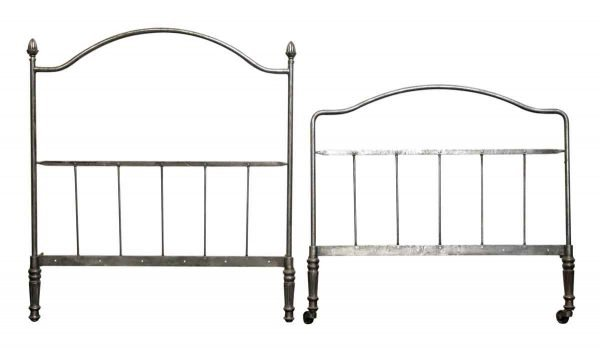 Metal Twin Bed Frame Set