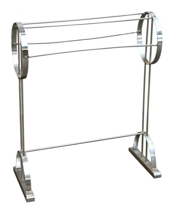Chrome Metal Rack