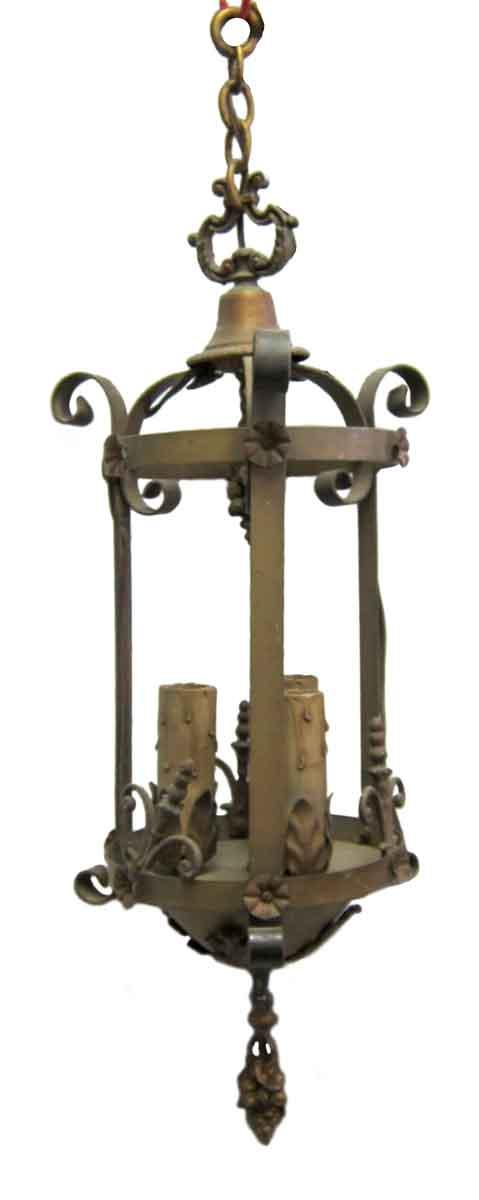 Iron Bronze Finished Lantern
