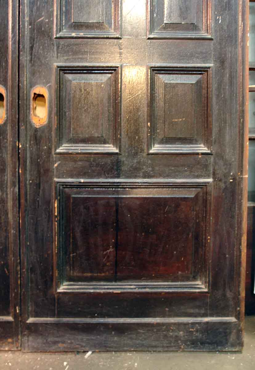 Mahogany Quatersawn Oak Pocket Doors Olde Good Things