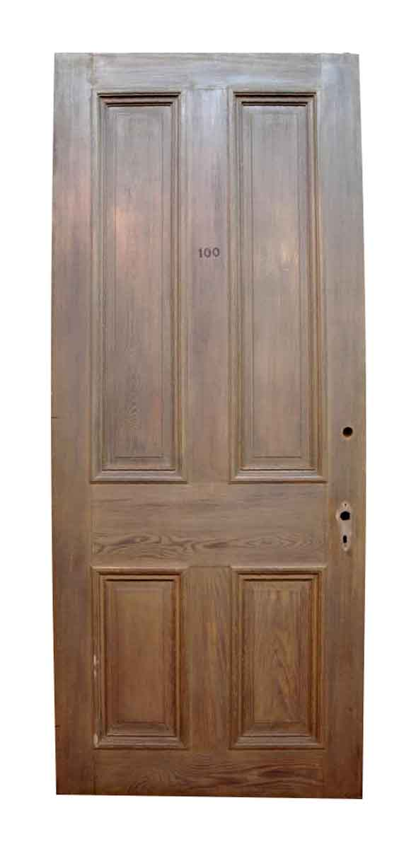 Chestnut & Cypress Door with Four Raised Panels