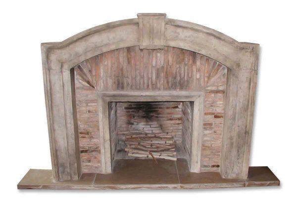 Italian Tuscan Fireplace