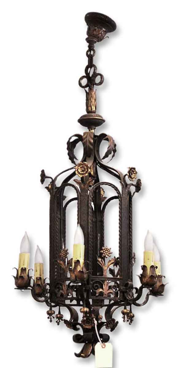 Sterling Bronze Works Iron Lantern
