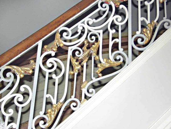 Iron Curved Staircase Railing