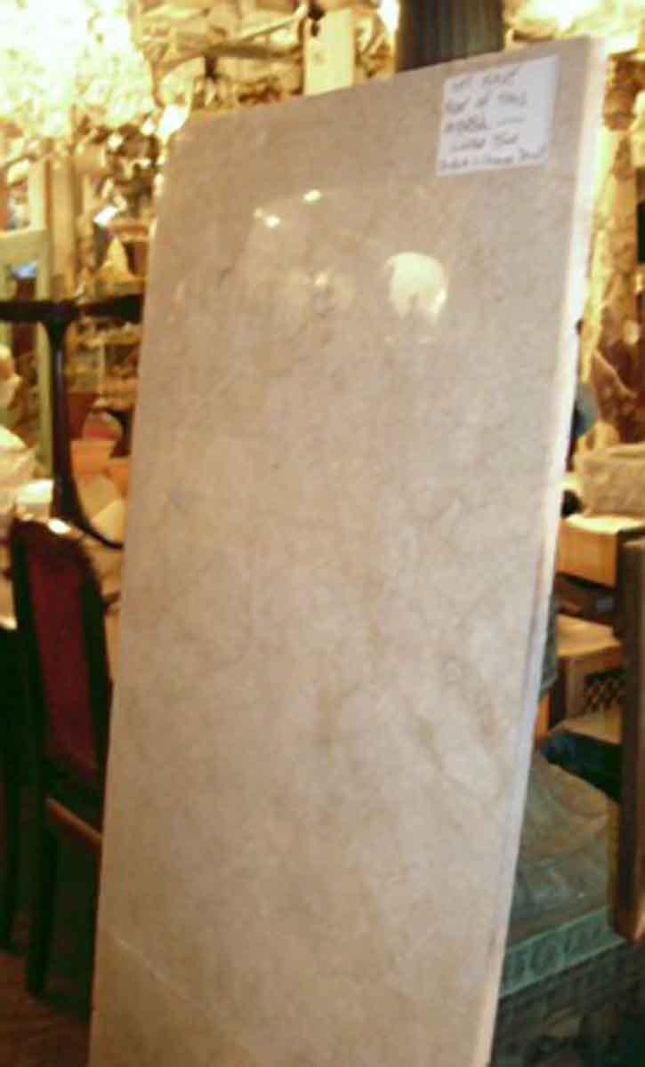 Antique Beige Marble Slab  Antique Beige Marble Slab Olde Good Things. Beige Marble Slab   Between Sleeps com