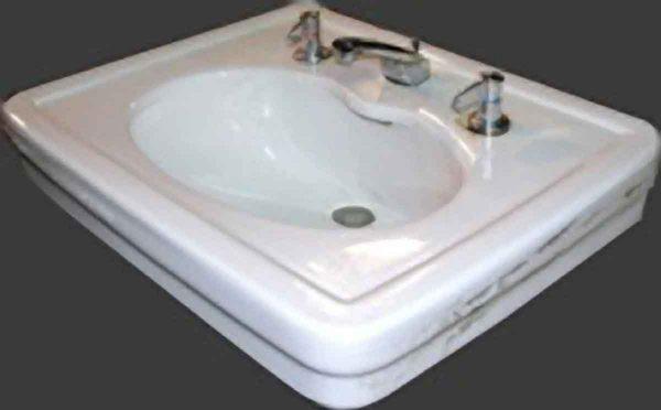Porcelain Pedestal Sink Top